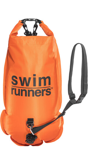 Swimrunners Piggybacking orange/black